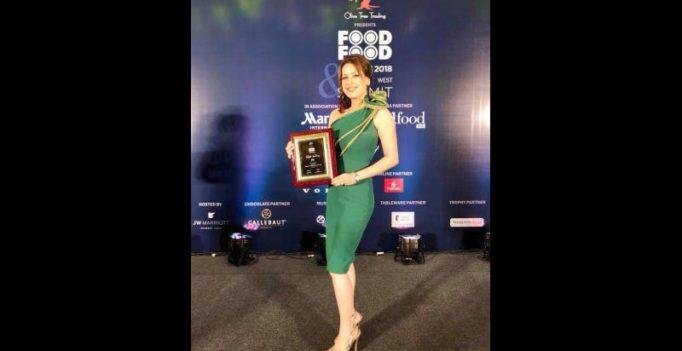 Amrita Raichand wins most stylish chef accolade at Food Food Awards 2018