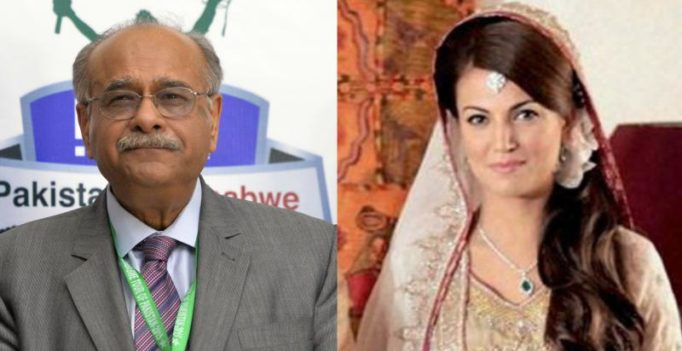 Be petrified: Imran Khan's ex-wife Reham takes dig at PCB chief Najam Sethi
