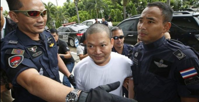 Disgraced former monk sentenced to 114 years in jail by Thai court