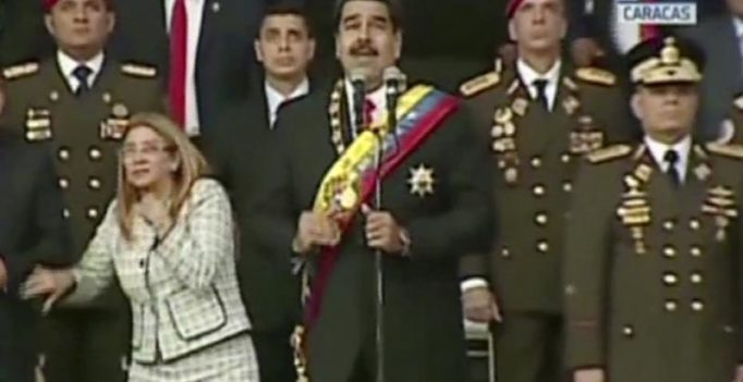 Escaped 'assassination', says Venezuelan prez; blames Colombia for drone attack
