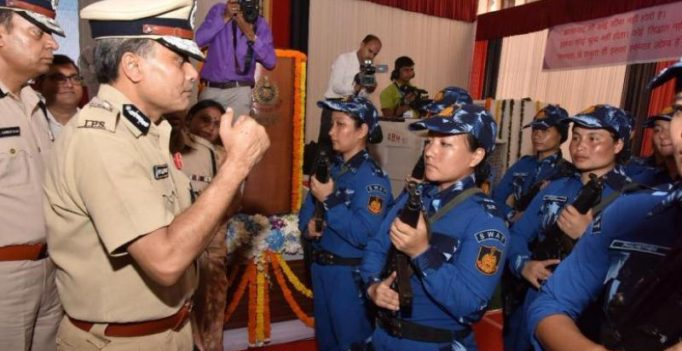 India breaks traditional male bastion, gets first female SWAT team