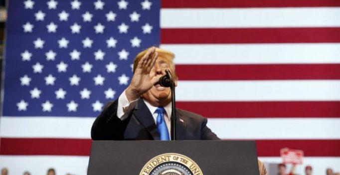 Trump trashes media as 'fake, fake disgusting news' at rally in Pennsylvania