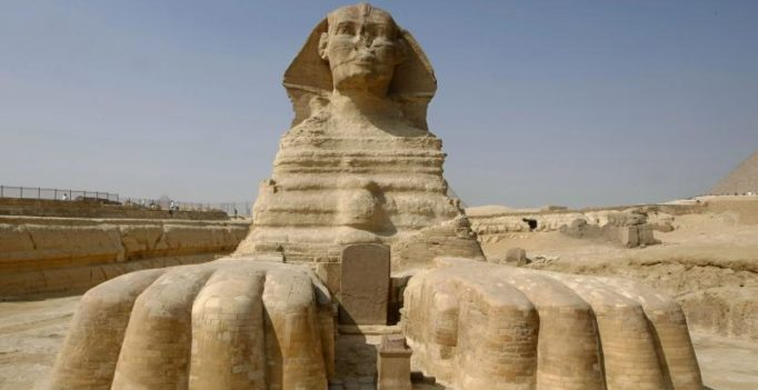 New ancient Egyptian Sphinx discovered buried near Valley of the Kings