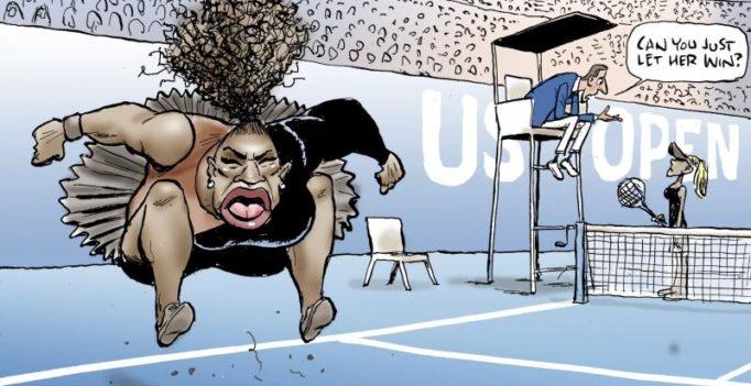 Australian newspaper defies criticism, reprints controversial Serena Williams cartoon