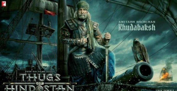 Amitabh Bachchan puts on his warrior face as Khudabaksh in Thugs of Hindostan