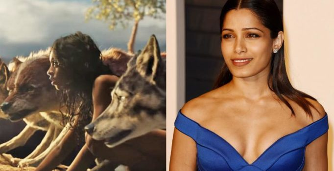 Freida Pinto promises surprise for Indian audience in 'Mowgli'