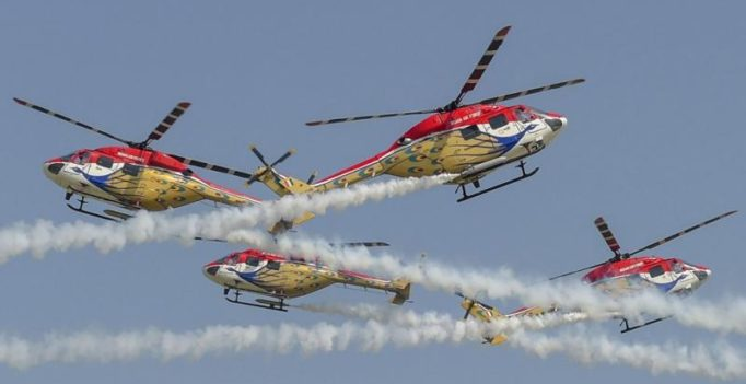 Watch: Jaw dropping stunts as Indian Air Force celebrates 86th anniversary