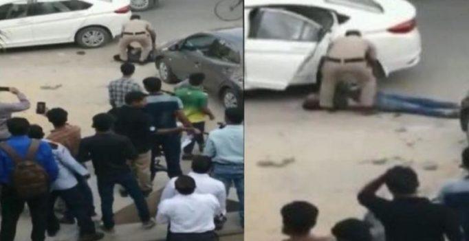 Gurgaon judge's wife, shot by guard on crowded street, dies; son 'brain dead'