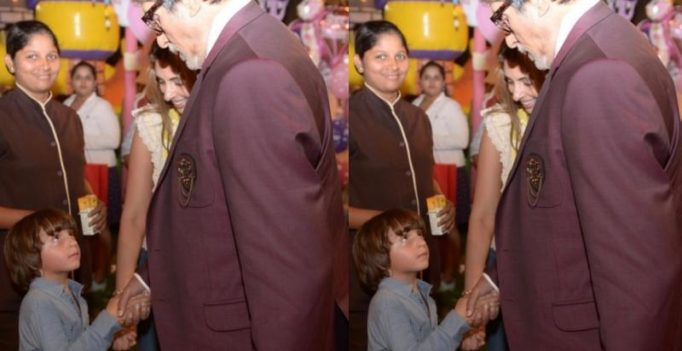 Amitabh Bachchan thinks 'AbRam is convinced I am his grandfather'