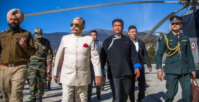 Arunachal Governor plays saviour; takes pregnant woman in own chopper to hospital