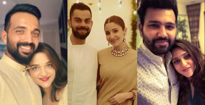 See pics: Virat Kohli, Rohit Sharma, Rahane, Team India players celebrate Diwali