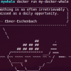 Docker Part 4: building and publishing custom docker images