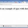AJAX  with Database
