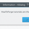 Adding a Simple GUI to Linux shell scripts with kdialog