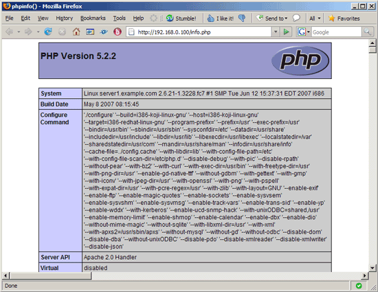 how to call htaccess file in php