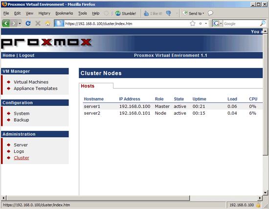 KVM & OpenVZ Virtualization And Cloud Computing With Proxmox