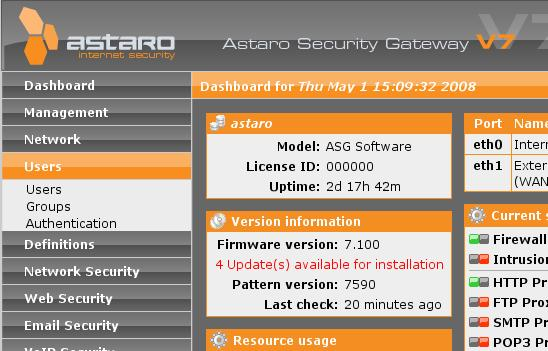 astaro_dashboard