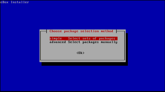 package-selection-method