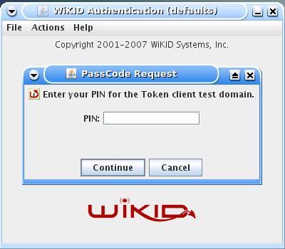 tokenclient_enterPIN