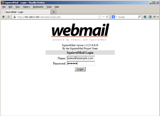 how to change password in squirrelmail