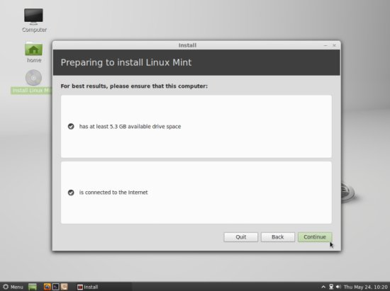 how to install linux mint on second hard drive