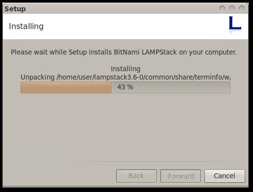 Lampstack_installing
