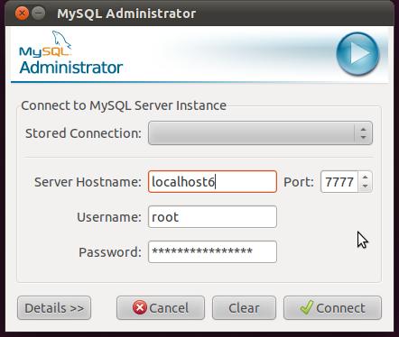 Screenshot_MySQL_Administrator_ipv6