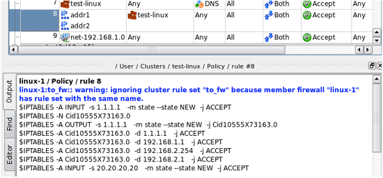 cluster-rule-set-override-warning