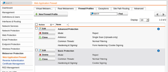 firewall-profiles
