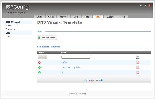 ispconfig3-dns-templates