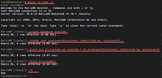 Create_databse_user_piwik