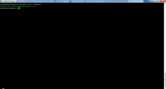 Default_Ruby_Version