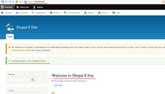 Drupal_Successfully