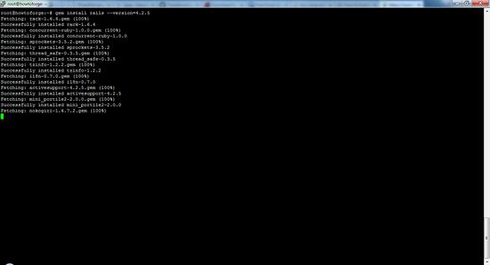 Installing_Rails