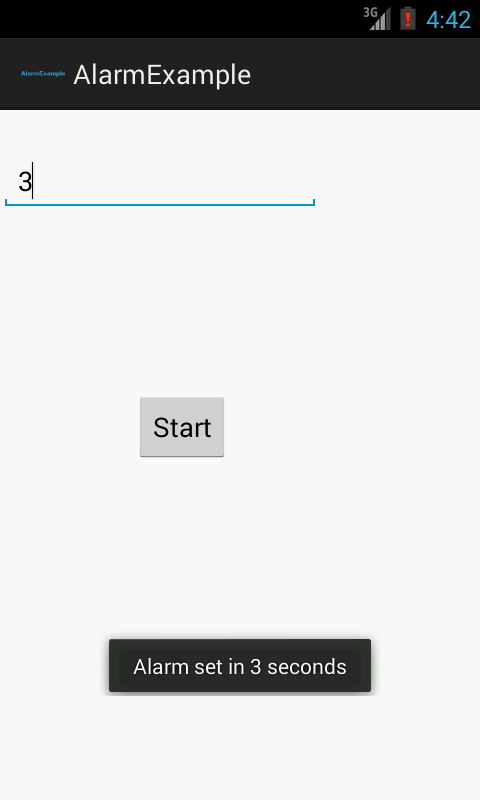 Android AlarmManager – Kreation Next – Support