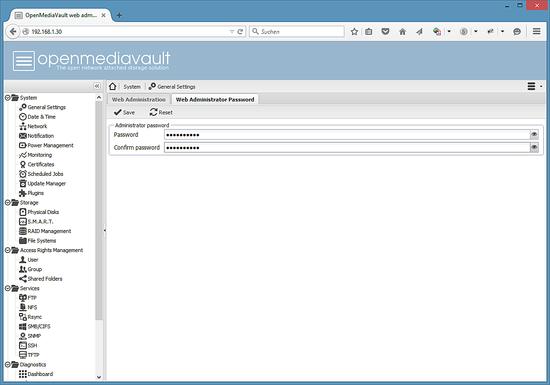 openmediavault_password