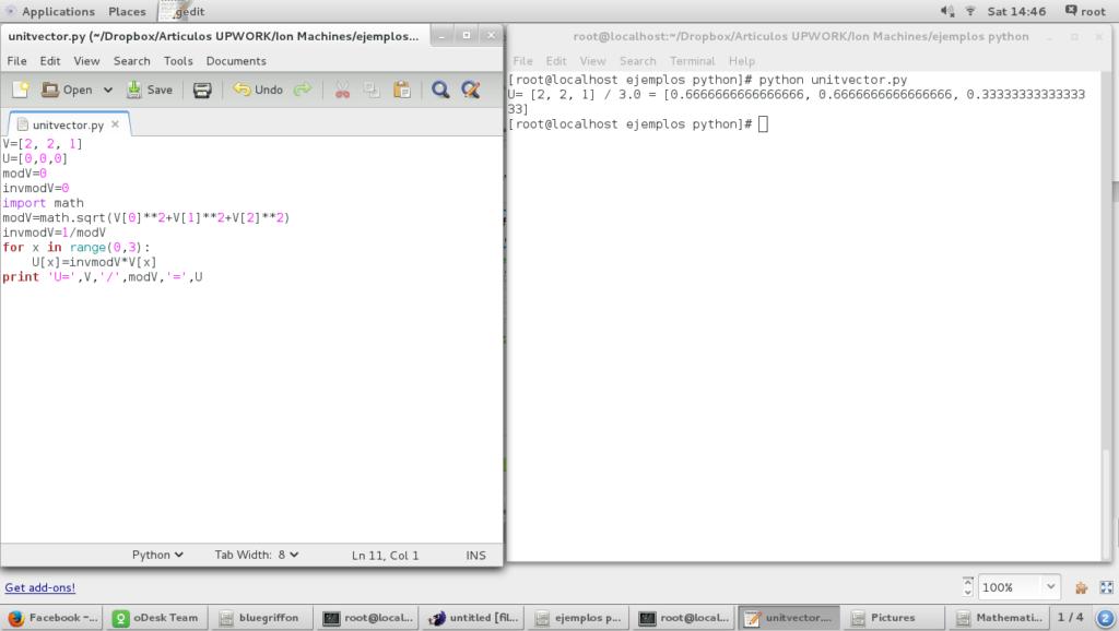 unitvectorscript