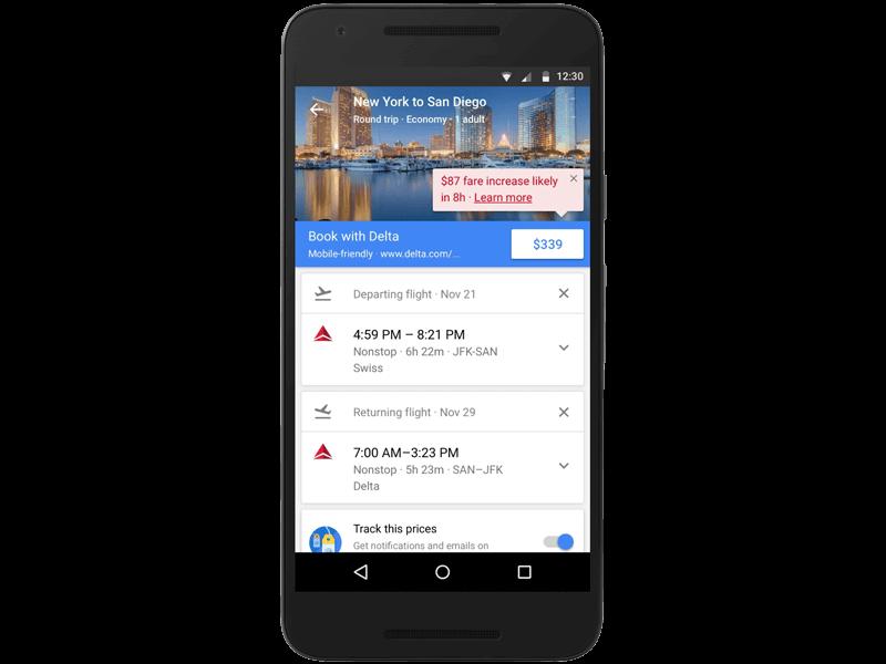 google-flights-updates