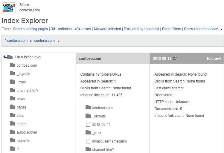 index-explorer