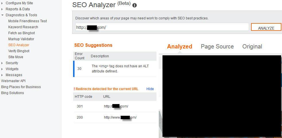 bing-seo-analyzer-tool