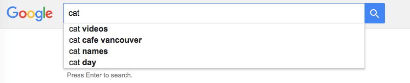 google-auto-complete