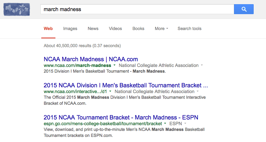 google-march-madness