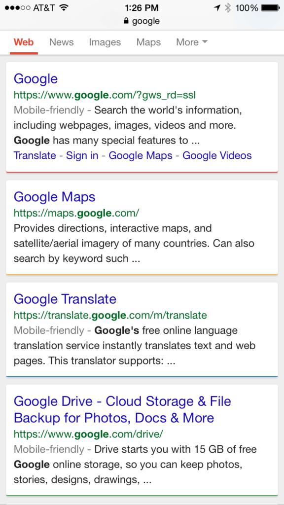 google-mobile-multi-colored-lines