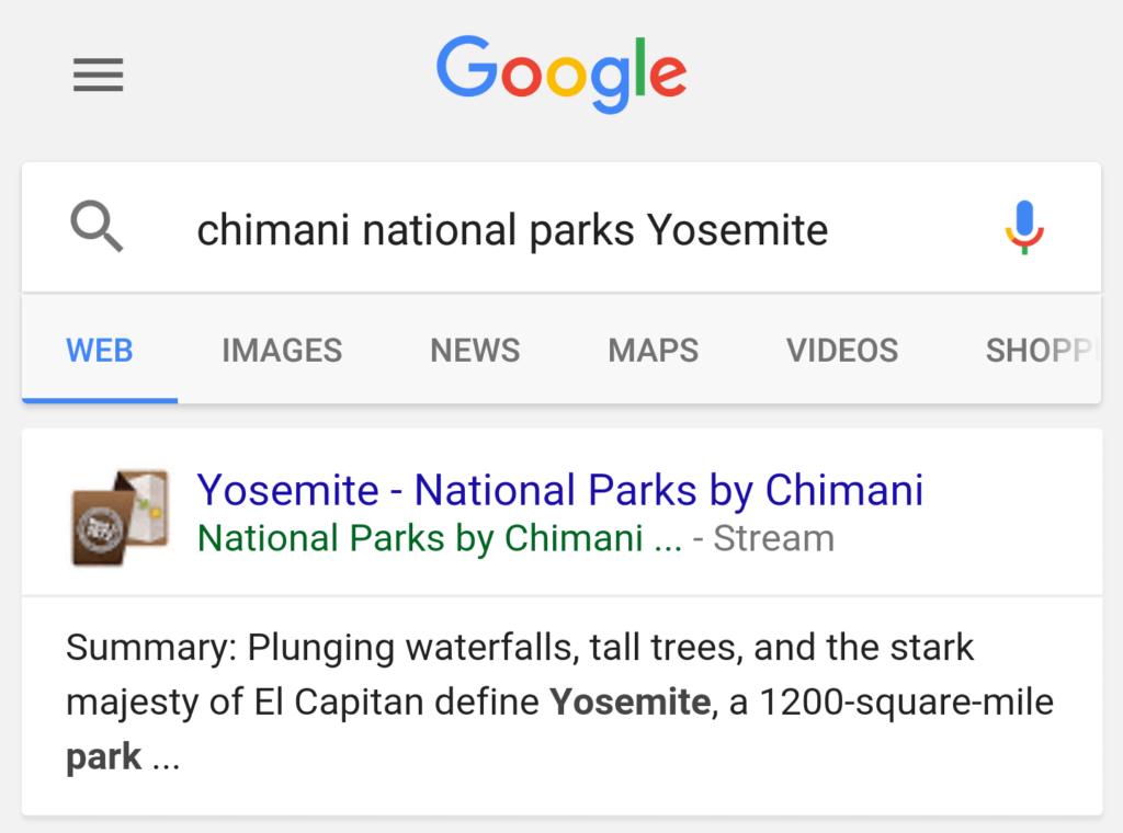 google-search-app-stream-button-chrome