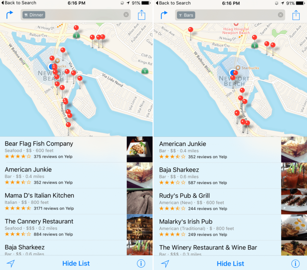nearby-in-ios-9