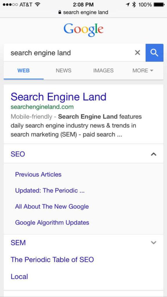 new-mobile-sitelinks-google