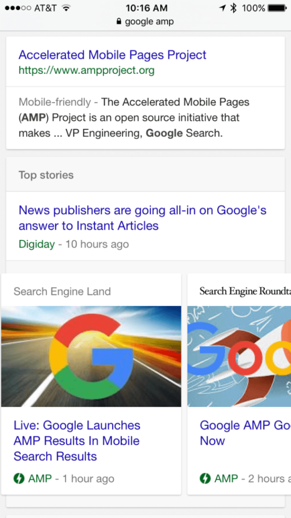 sel-google-amp