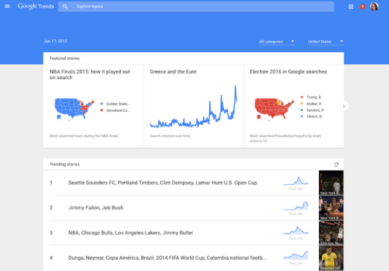 storycentric-google-trends-homepage