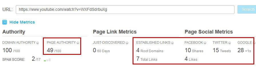 youtube-video-link-social-metrics