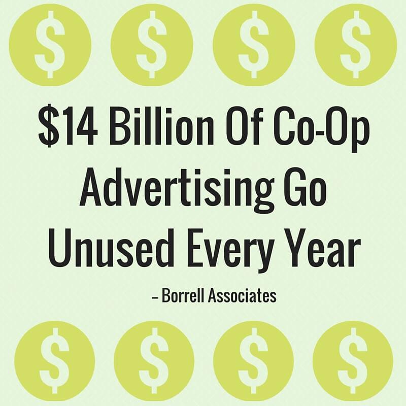14-billion-in-co-opadvertising-goesunused